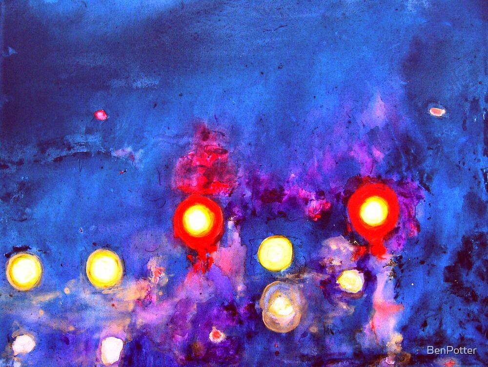 Night Lights by BenPotter