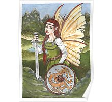 Shield Fairy Poster
