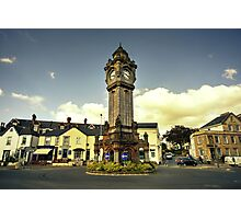 Exeter Clock Tower  Photographic Print