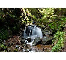 Puck's Glen Large Waterfall Photographic Print