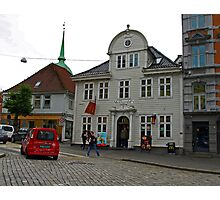 McDonalds in Bergen, Norway Photographic Print