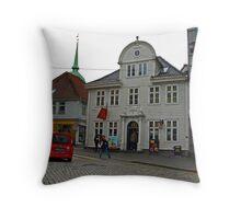 McDonalds in Bergen, Norway Throw Pillow