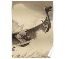 Theodor Kittelsen Fuegl dam Fågel Dam Fugl Dam navn både på et eventyr fra Asbjørnsen og Moes Norske folkeeventyr «Da han var forbi dem lettet han på Klubben tredje Gang» 1907 Poster