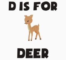 D Is For Deer Kids Clothes