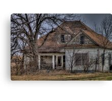Ghostly Hide-Away Canvas Print