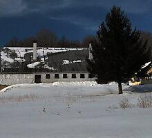 Winter On The Mountain by Joanne  Bradley
