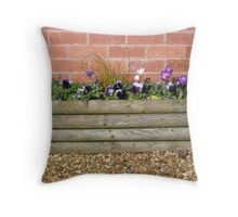 Spring is nearly here Throw Pillow