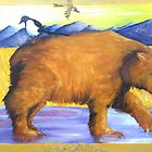 Giant Jesus Bear by Kay Hale