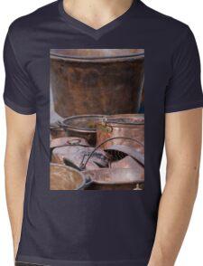 old pots and pans Mens V-Neck T-Shirt