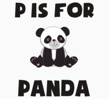 P Is For Panda Kids Clothes
