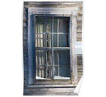 Through the Window Pane Poster