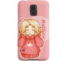 Matthew Williams (aph Canada) Samsung Galaxy Case/Skin