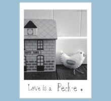 'Love is a Peck-e' second sister One Piece - Short Sleeve
