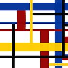 A Mondrian Mood by Vanessa Barklay