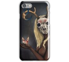 Moth Woman iPhone Case/Skin