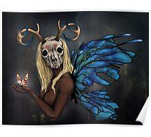 Moth Woman Poster