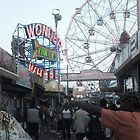 Wonder Wheel Alley by Bernadette Claffey
