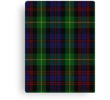 00539 Black Watch Plaid of Pipers Military Tartan  Canvas Print