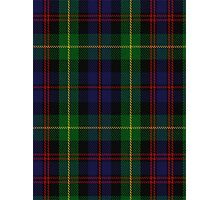 00539 Black Watch Plaid of Pipers Military Tartan  Photographic Print