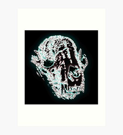 Skull For You Art Print