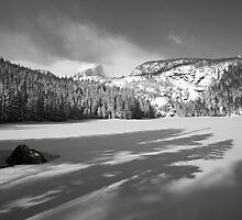 Shadows on Bear Lake 2 by Teresa Smith
