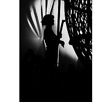 Behind the Scenes at the Circus  Photographic Print