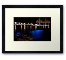 Strand Pier  Framed Print