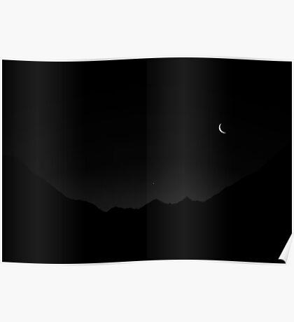 Pre Dawn Doubtful Sound Mono Poster