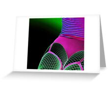 colours in dark Greeting Card
