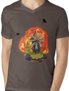 Besiege Mens V-Neck T-Shirt