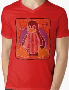 Tux Mens V-Neck T-Shirt