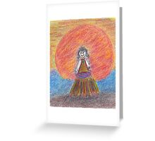 Lil Island Girl 2011 Greeting Card