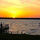 Sunrise at Lake Houston by Ann Reece