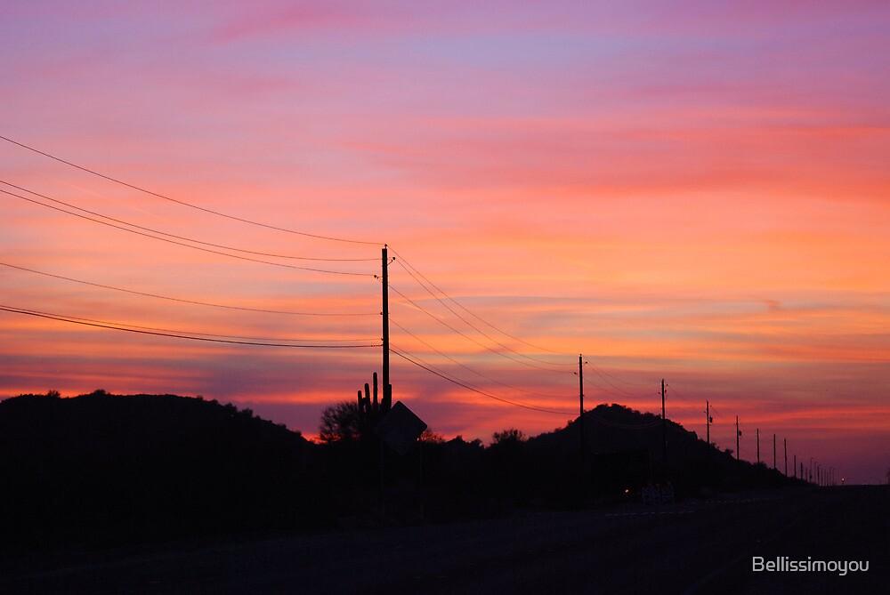 Arizona Sunset by Bellissimoyou