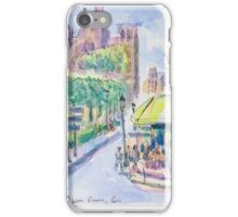 Notre Dame, Paris iPhone Case/Skin