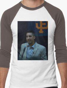 Travis Ishikawa @ JCCCNC  Men's Baseball ¾ T-Shirt