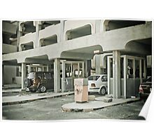 Parking's different in Kuwait Poster