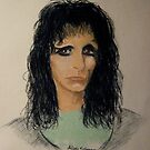 Alice Cooper by Hilary Robinson