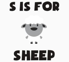 S Is For Sheep Kids Clothes