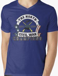 The North - Civil War Champions - Notherner Pride - Union Pride - Anti-Confederate Funny Shirt Mens V-Neck T-Shirt