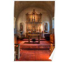 Inner Sanctuary (San Rafael Spanish Mission, California) Poster