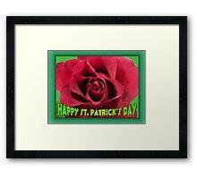 Happy St. Patrick Day!! Framed Print