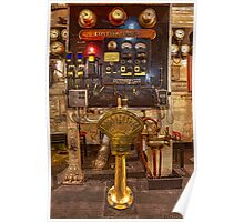 Engine Room of the Queen Mary (Long Beach, California) Poster