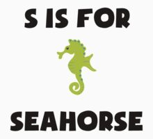 S Is For Seahorse Kids Clothes