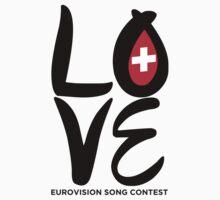LOVE Eurovision [Switzerland] Kids Clothes