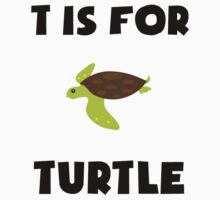 T Is For Turtle Kids Clothes