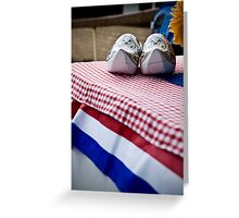 Dutch Icons Greeting Card