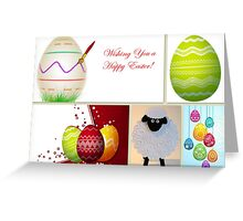Wishing you a Happy Easter! Greeting Card