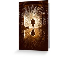 Reflection Of Light Greeting Card