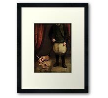 The unknown artist Framed Print